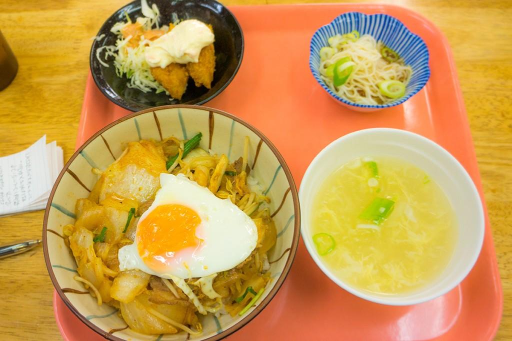 lunch_kimuchidon_151005nakazaya