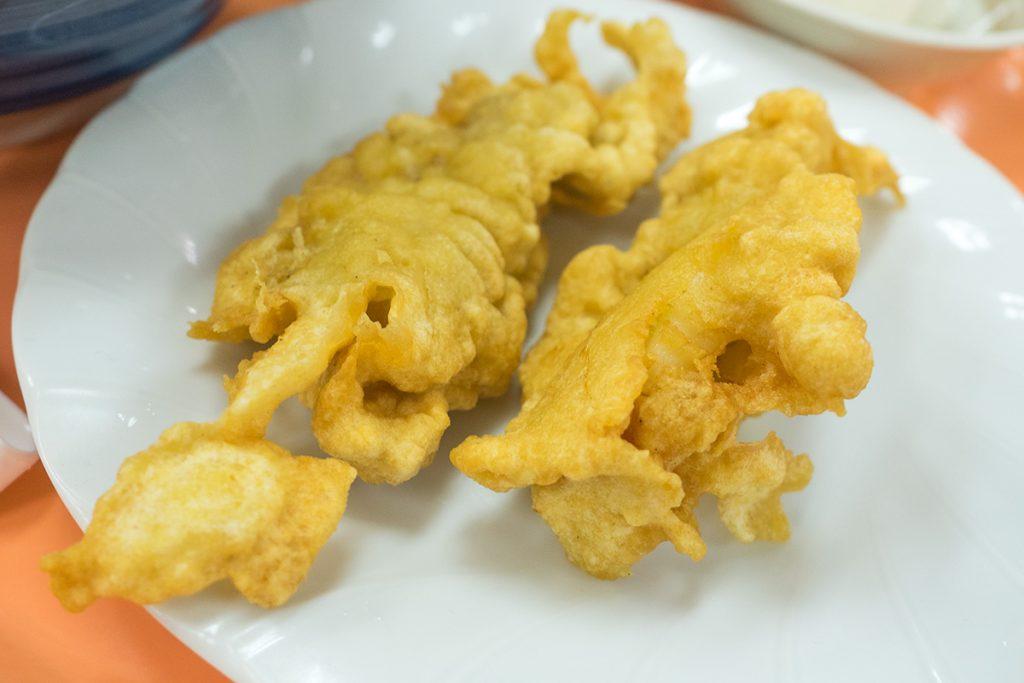 lunch_tounyuudon_tenpura_160527nakazaya